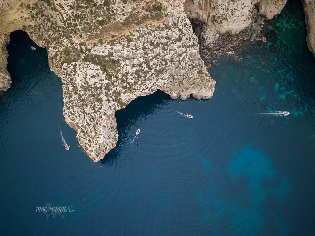 Qué ver en Malta en 4 días - Blue Grotto