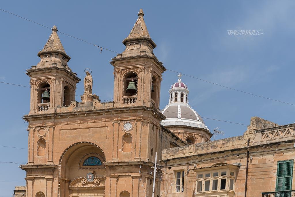 Qué ver en Malta en 4 días- Iglesia de Nuestra Señora de Pompeya