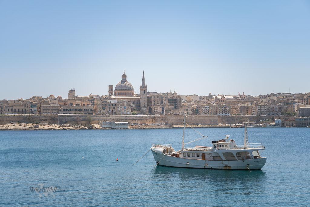 Qué ver en Malta en cuatro días - Visitar Sliema y sus vistas