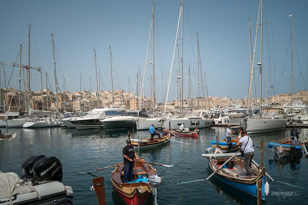 Qué hacer en Malta en 4 días - Pasear en Dghajsa