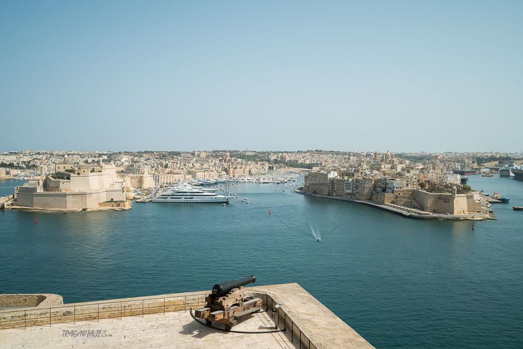 Qué ver en Malta - Fuerte Ricasoli