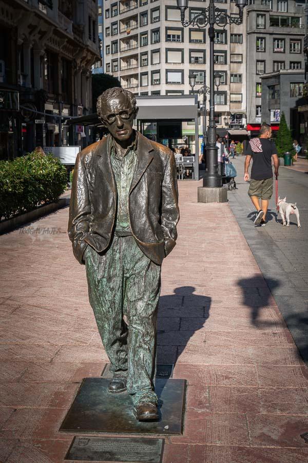 Qué ver en Oviedo en 2 días - Woody Allen