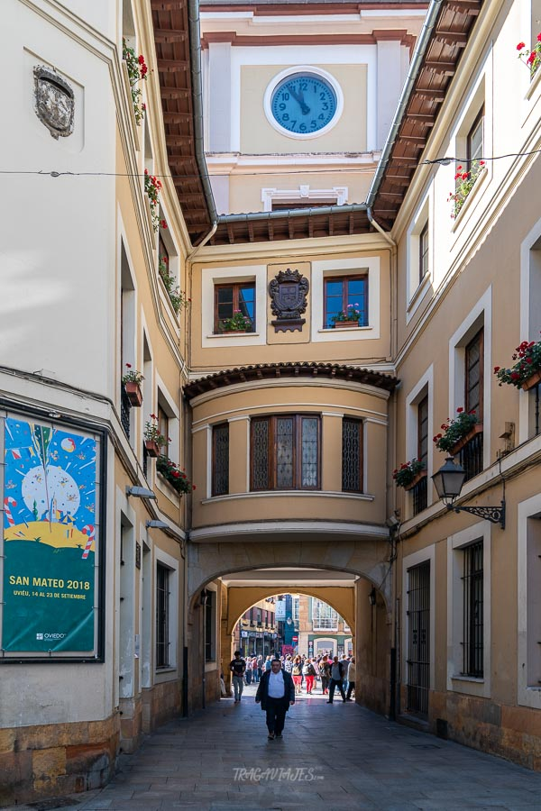Qué ver en Oviedo y alrededores - Puerta de la muralla