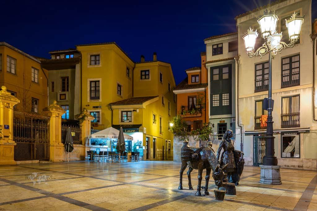 Qué ver en Oviedo y alrededores - Plaza de Trascorrales