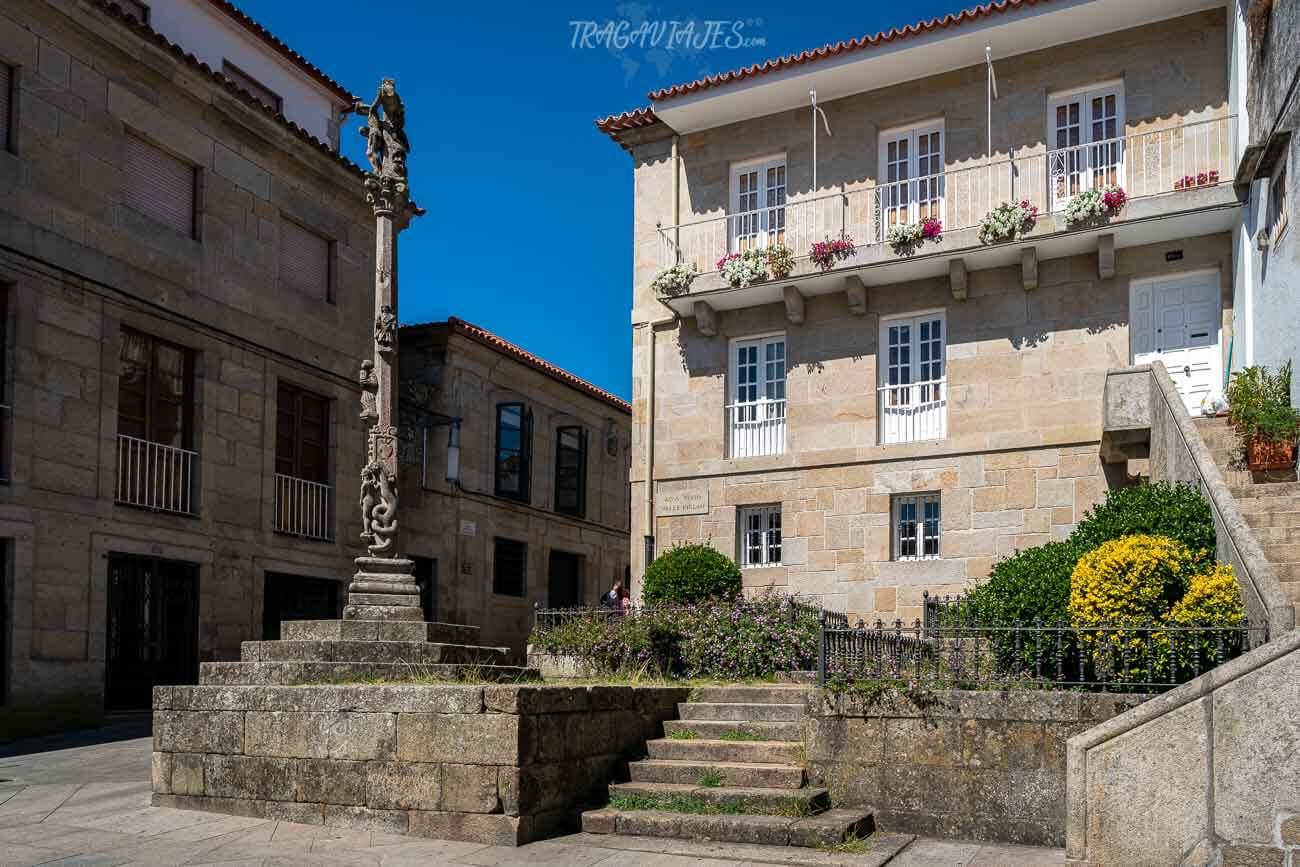 Plazas de Pontevedra - Plaza de las Cinco Rúas