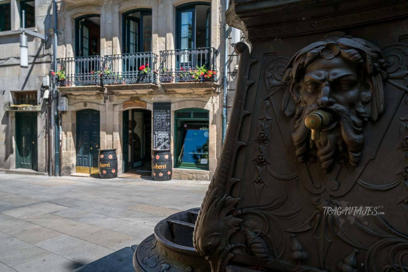 Plazas de Pontevedra - Plaza de la Verdura