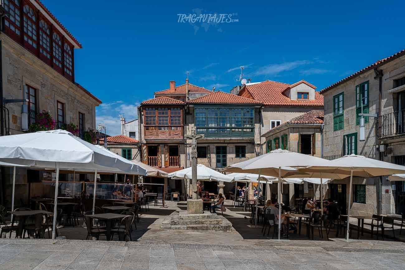 Plazas de Pontevedra - Plaza de la Leña