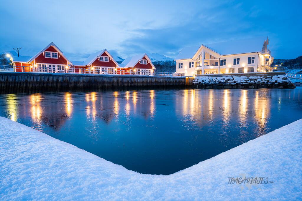 Dónde alojarse en Senja - Hotel Senja Fjordhotell