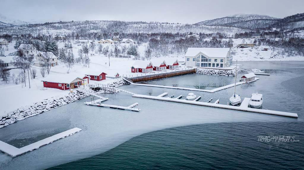 Recorrido por la isla de Senja - Hotel Senja Fjordhotell