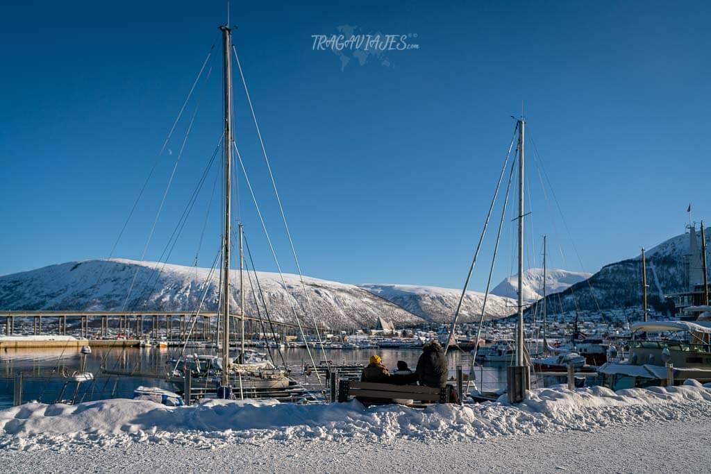 Imprescindibles que ver en Tromso -Puerto de Tromso