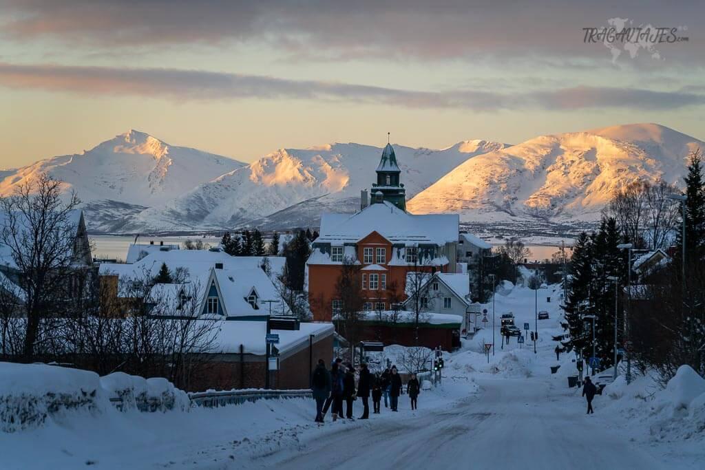 Qué hacer en Tromso - Disfrutar el amanecer