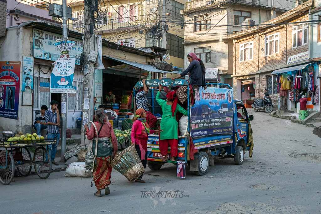 Qué ver en Katmandú en 4 días - Calles de Katmandú