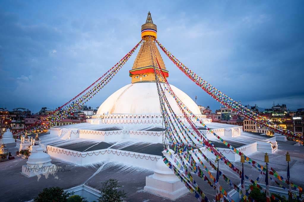 Qué ver en katmandú en 4 días - Boudhanath