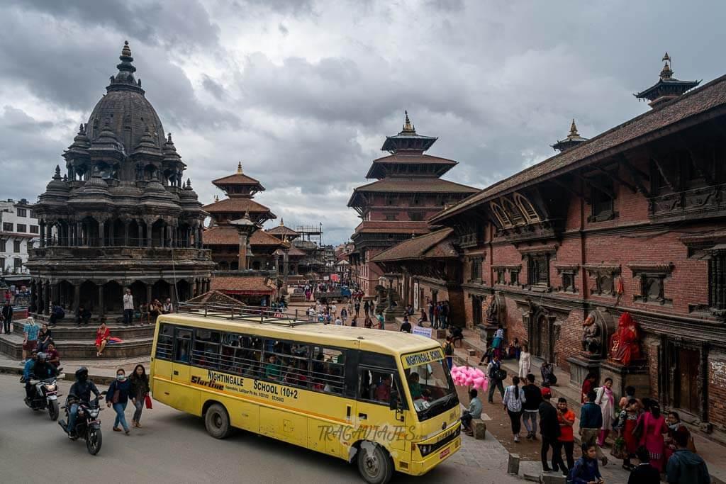 Qué ver en el valle de Katmandú y alrededores - Plaza Durbar de Patan