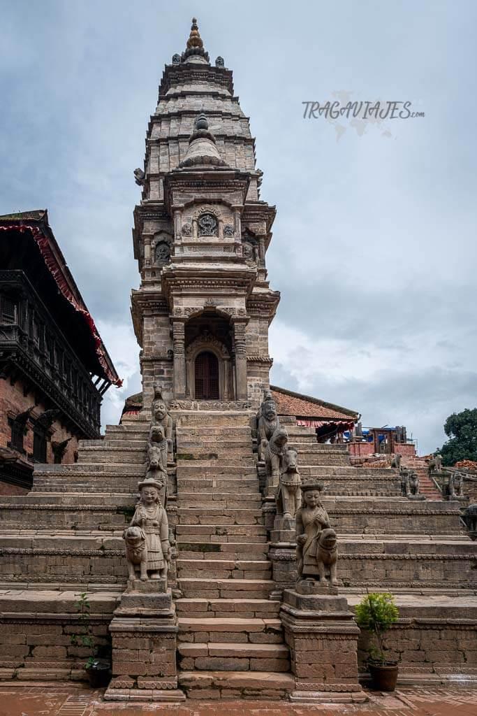 Qué ver en el valle de Katmandú y alrededores - Plaza Durbar de Bhaktapur