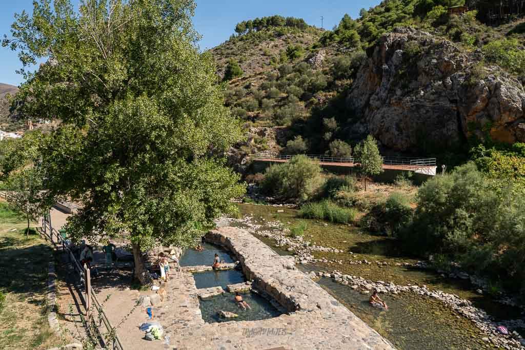 Qué ver en la Rioja en una ruta de 3 días - Pozas de Arnedillo