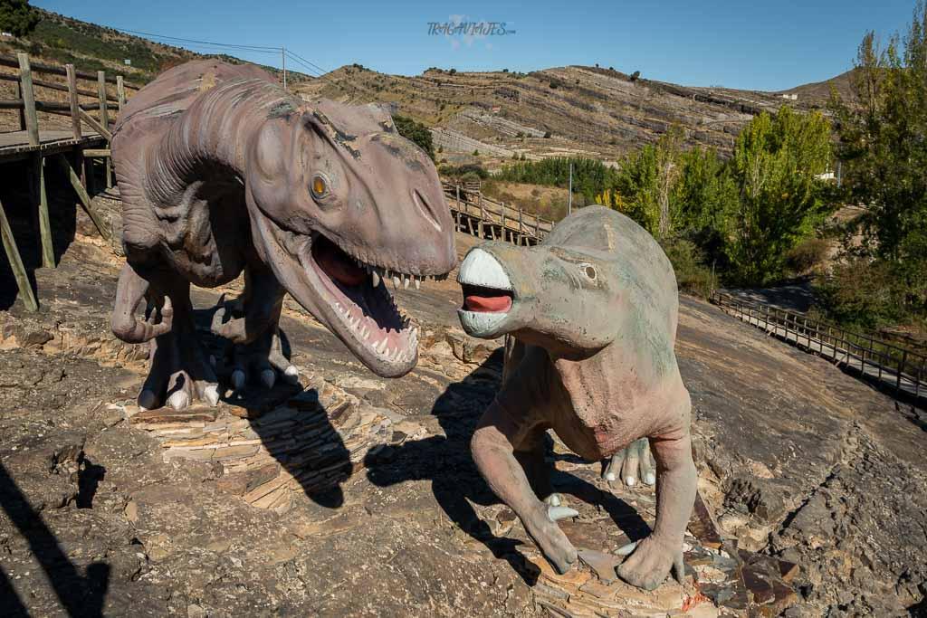 Qué ver en la Rioja en una ruta de 3 días - Yacimientos de icnitas de Enciso