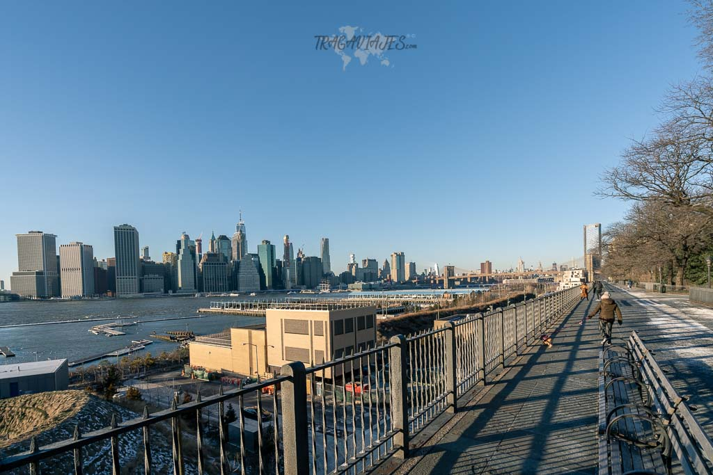 Qué ver en Nueva York - Brooklyn Heights Promenade