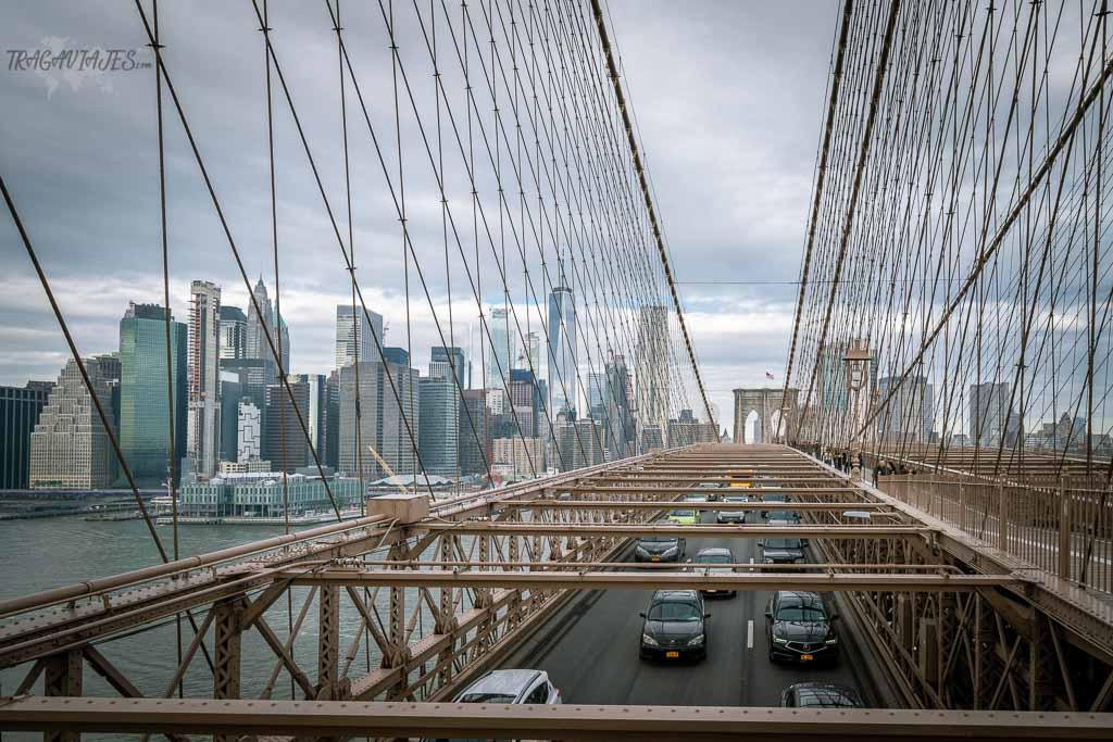 Tor de contrastes de Nueva York - Puente de Brooklyn