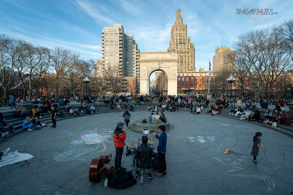 Qué ver en Nueva York en una semana - Washington Square