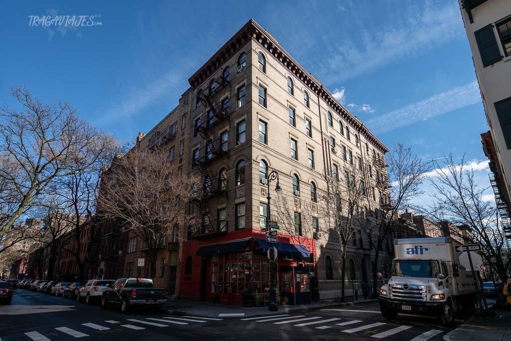 Qué hacer en Nueva York en una semana - Fachada de Friends