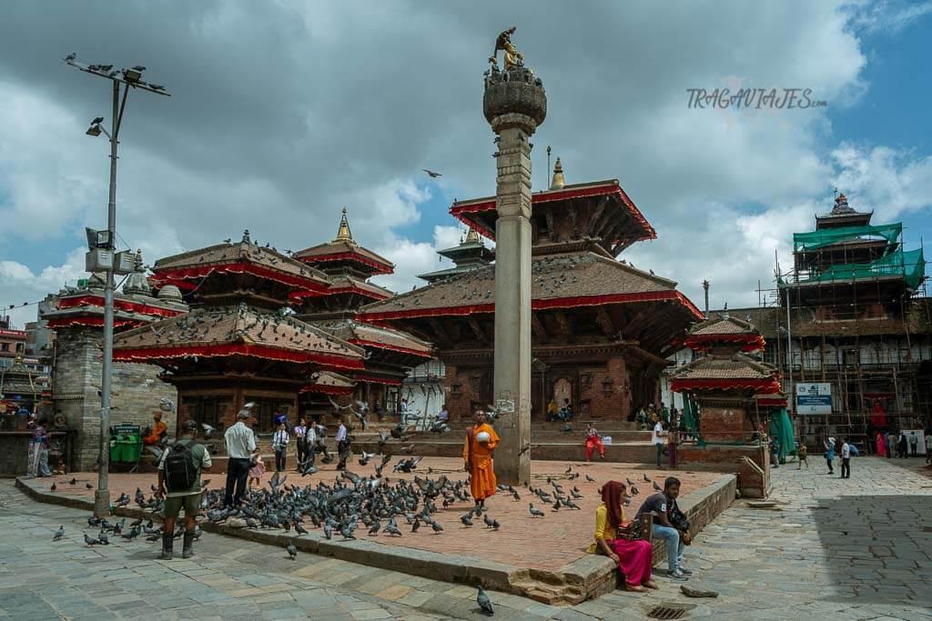 Qué ver en el valle de Katmandú - Plaza Durbar de Katmandú