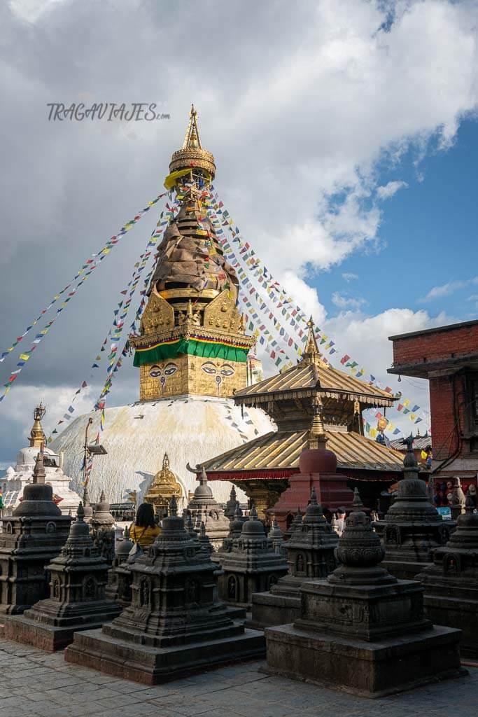 Qué ver en el valle de Katmandú - Estupa de Swayambhunath