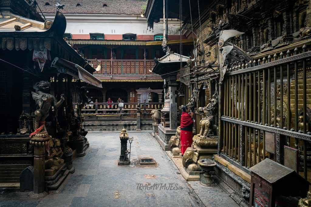 Qué ver en el valle de Katmandú - Templo Dorado de Patan