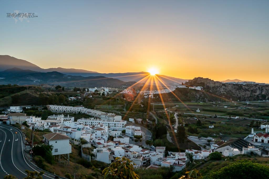Qué ver en Salobreña- Amanecer desde la Urbanización Monte Almendros