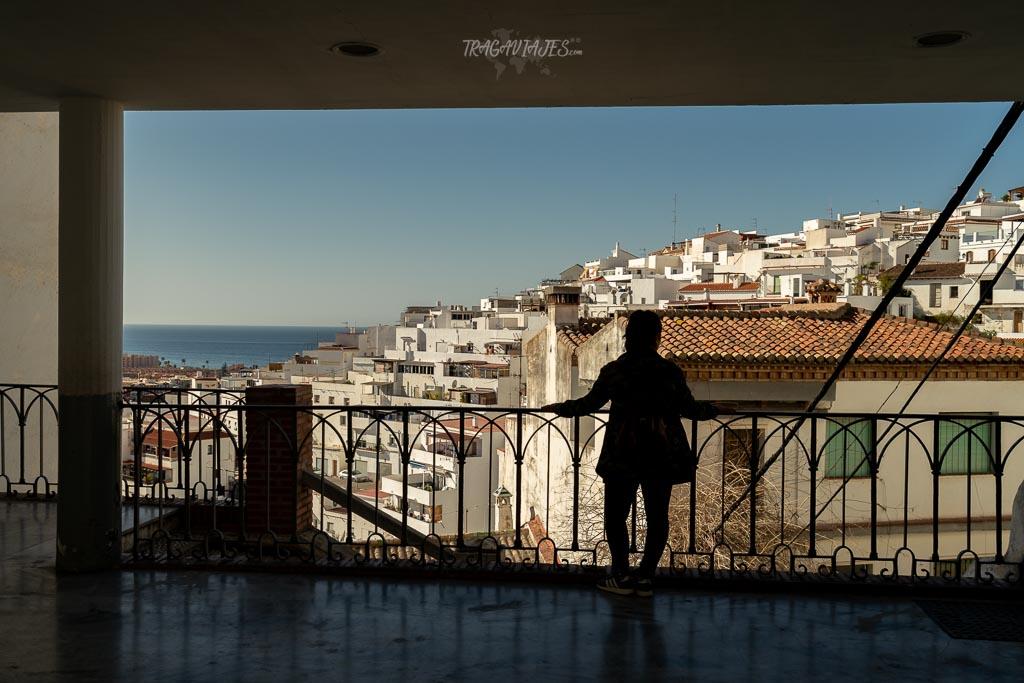Qué ver y hacer en Salobreña - Mirador en la plaza del ayuntamiento
