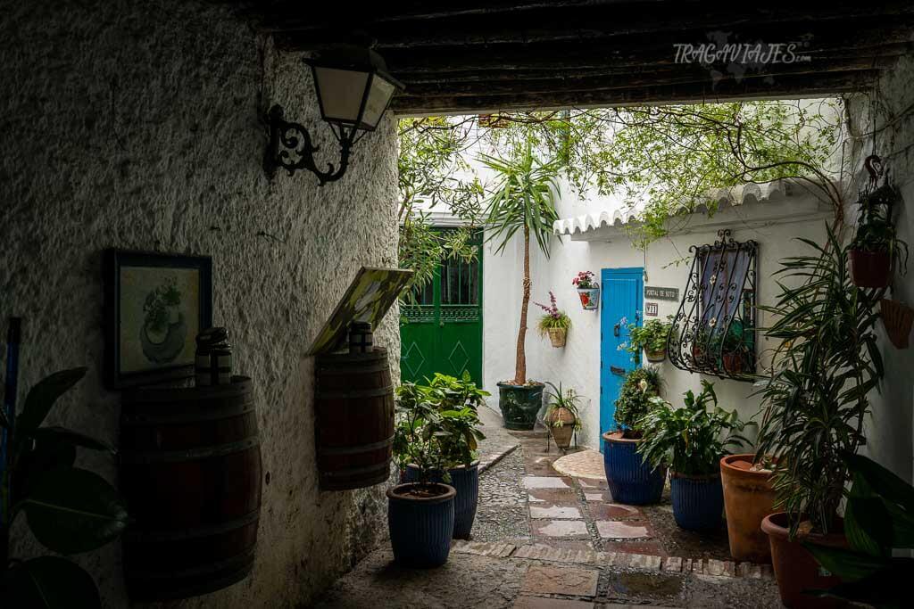 Frigiliana, en Málaga - Callejones