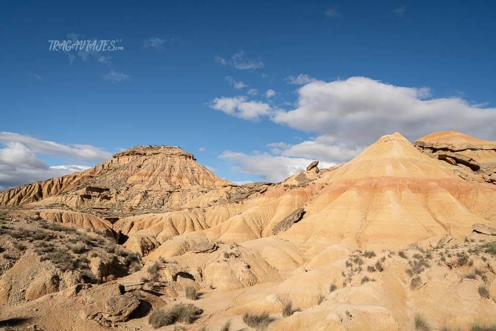 Ruta en coche en el desierto de las Bardenas Reales