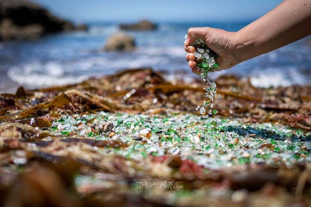 Playas de la Costa da Morte - La Playa de los Cristales