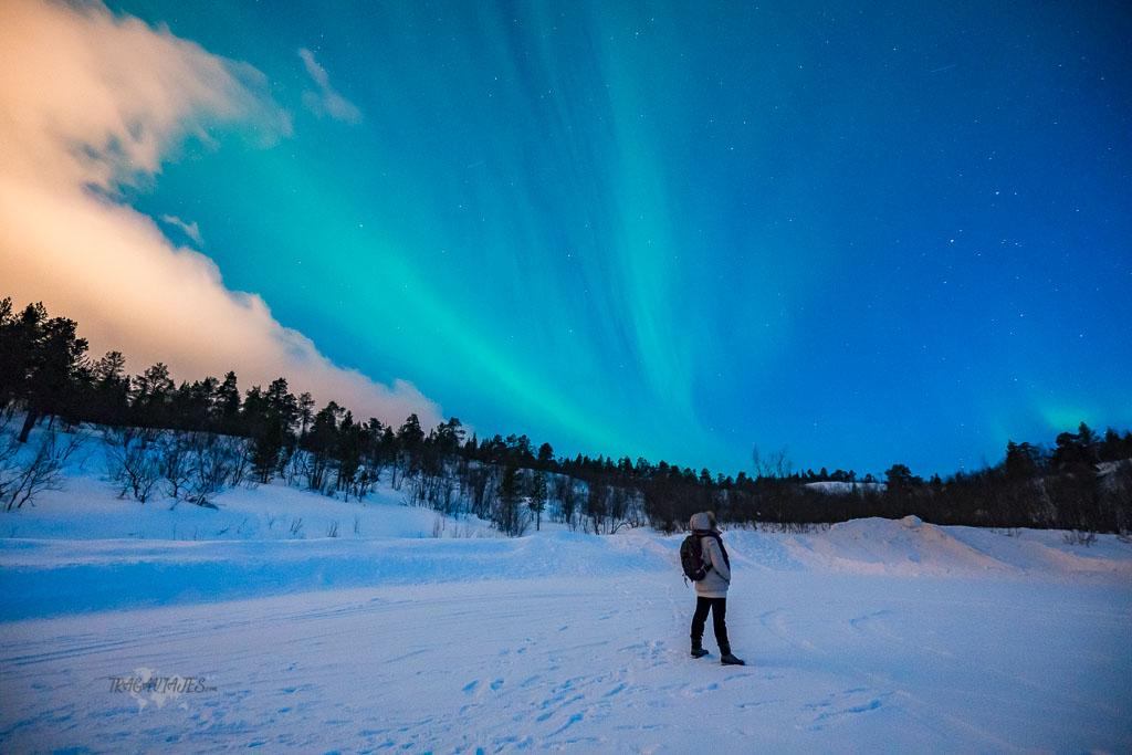 Ruta por Laponia- Auroras boreales