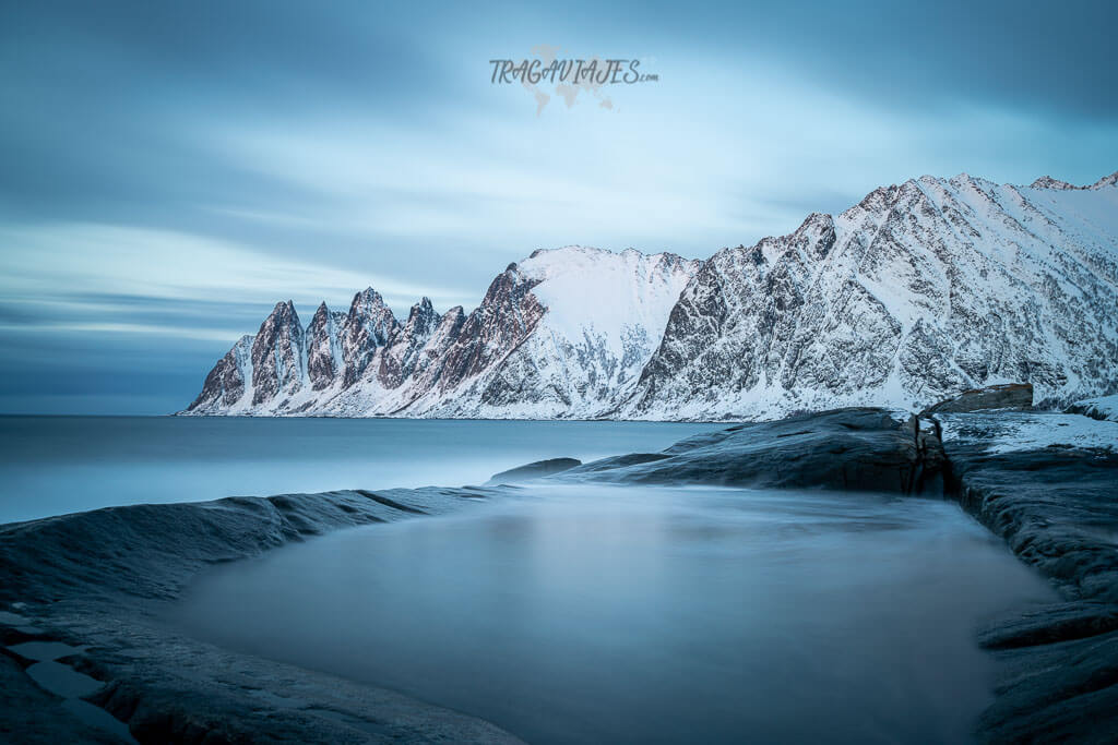 Senja Noruega - Vista de The Devil's Jaw
