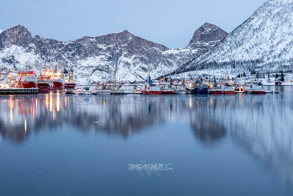 Senja Noruega - Puerto de Senjahopen