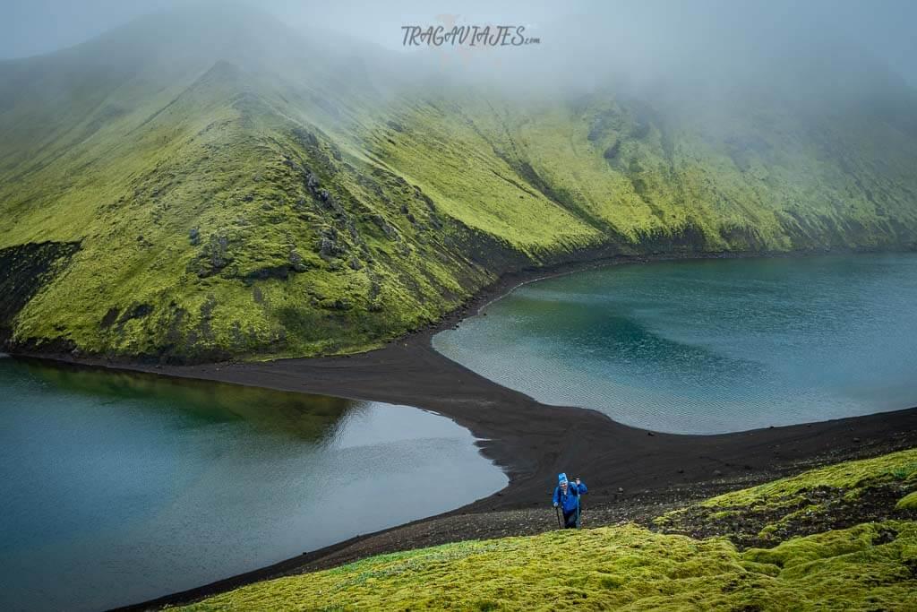Tierras Altas Islandia ruta 8 días - Trekking en Langisjór