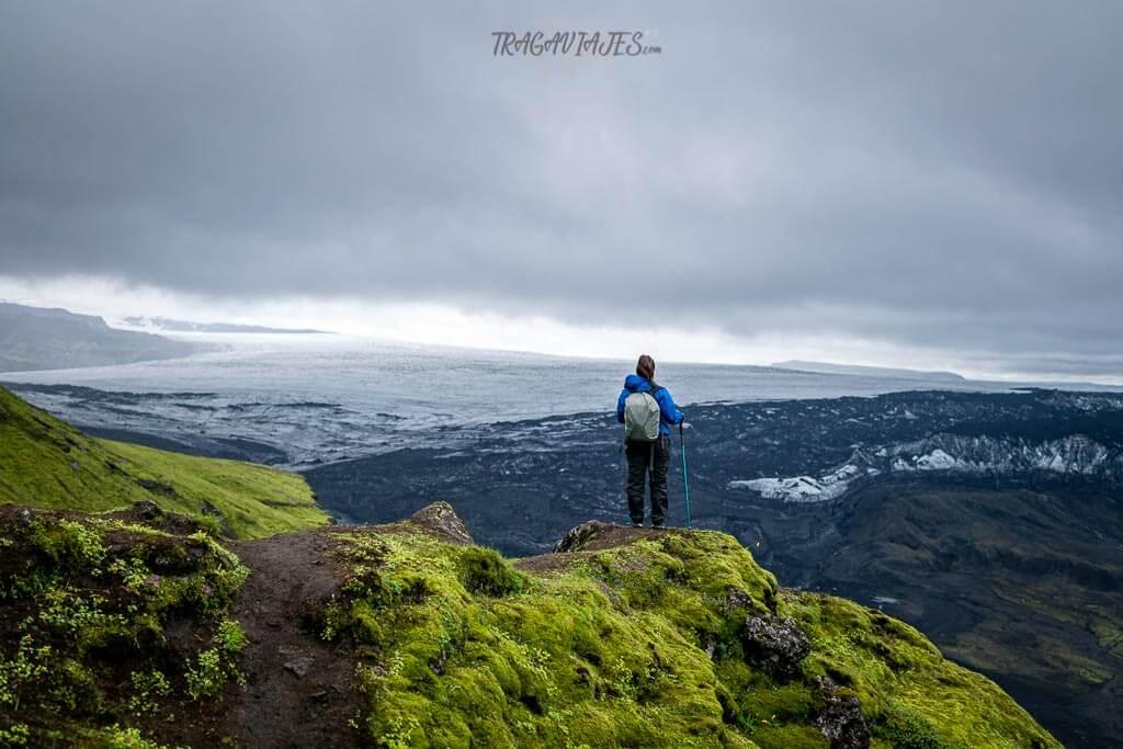 Tierras Altas Islandia ruta 8 días - Observando el glaciar Mýrdalsjökull
