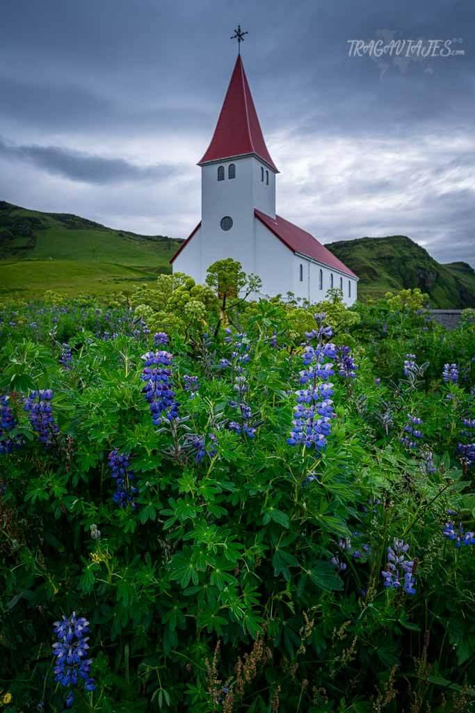 Tierras Altas de Islandia - Iglesia de Vik