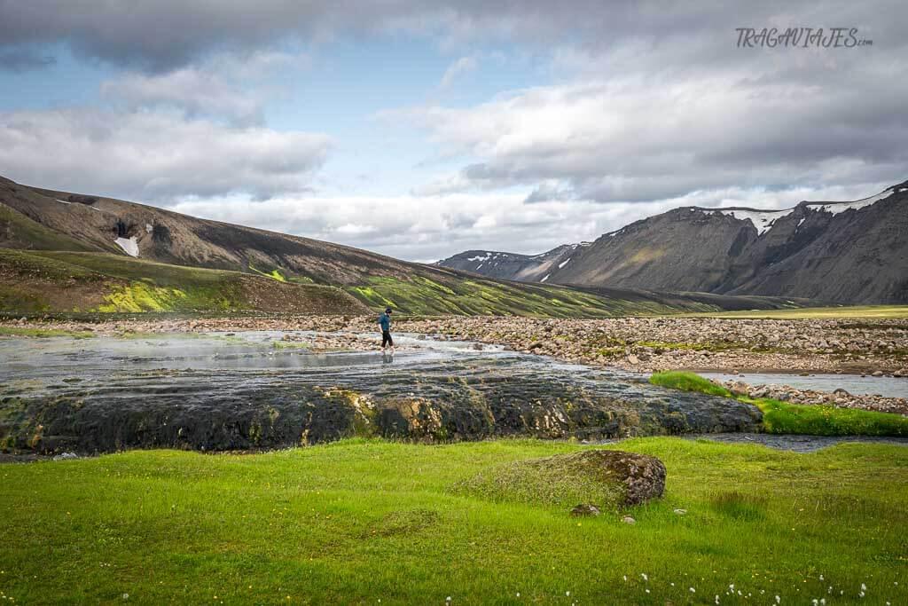 Tierras Altas de Islandia - Aguas termales