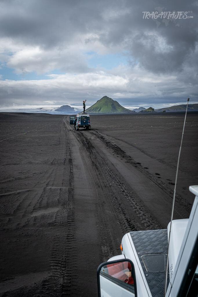 Tierras Altas de Islandia - Volcán Maelifell