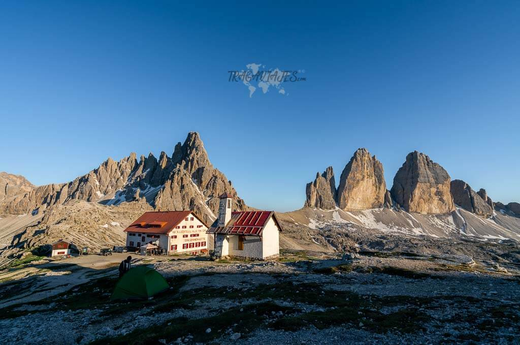 Tre Cime di Lavaredo - Refugio Antonio Locatelli