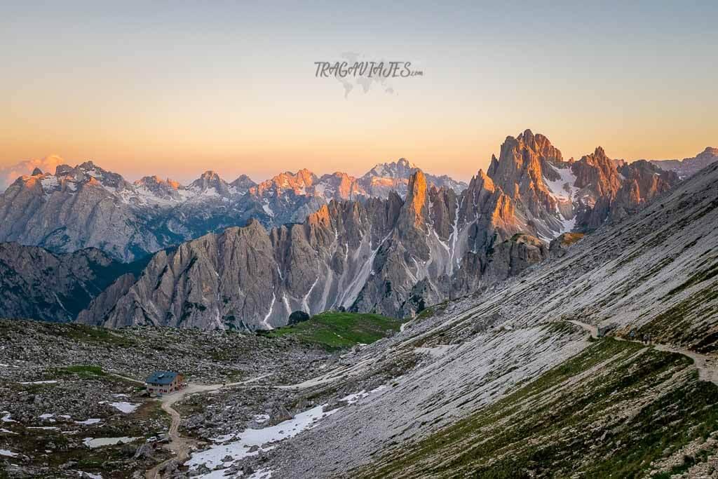 Tre Cime di Lavaredo - Vistas desde Forcella Lavaredo