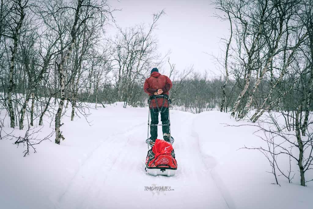 Viaje a Laponia - Ruta con raquetas