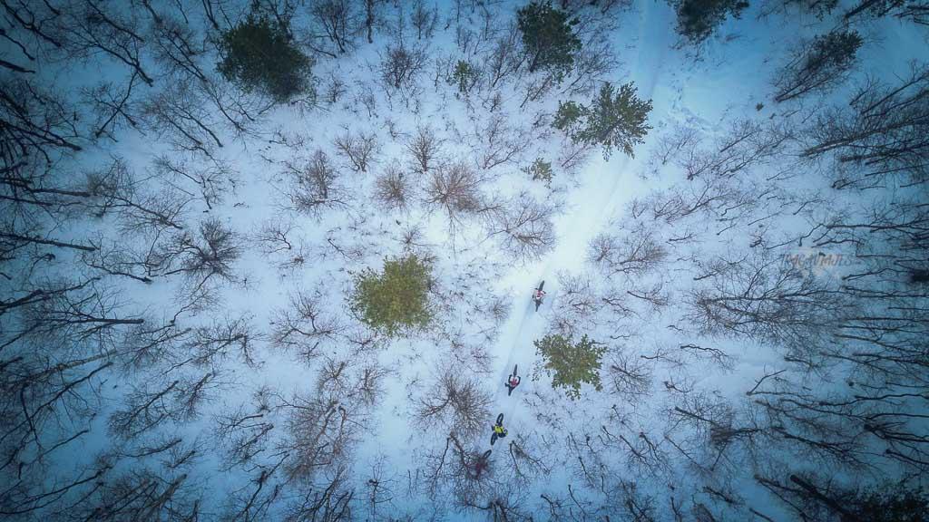 Viaje a Laponia - Realizando snowbike