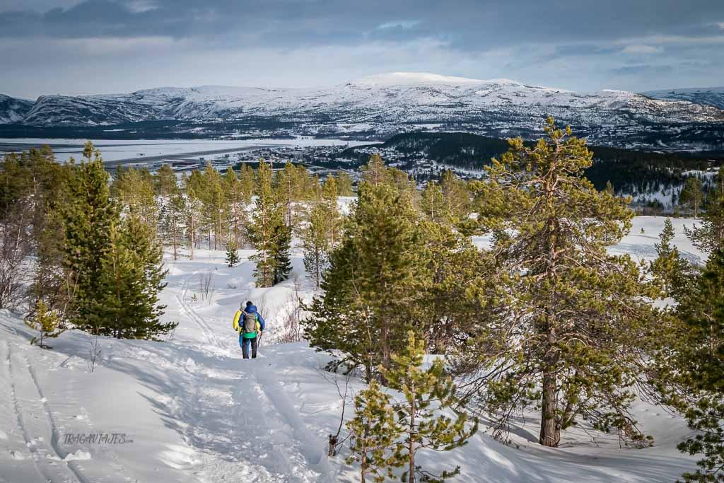 Viaje a Laponia - De camino a Komsa
