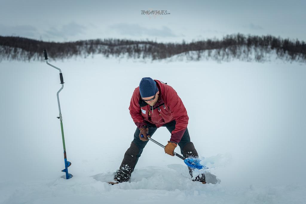 Viaje a Laponia - Pesca en Hielo