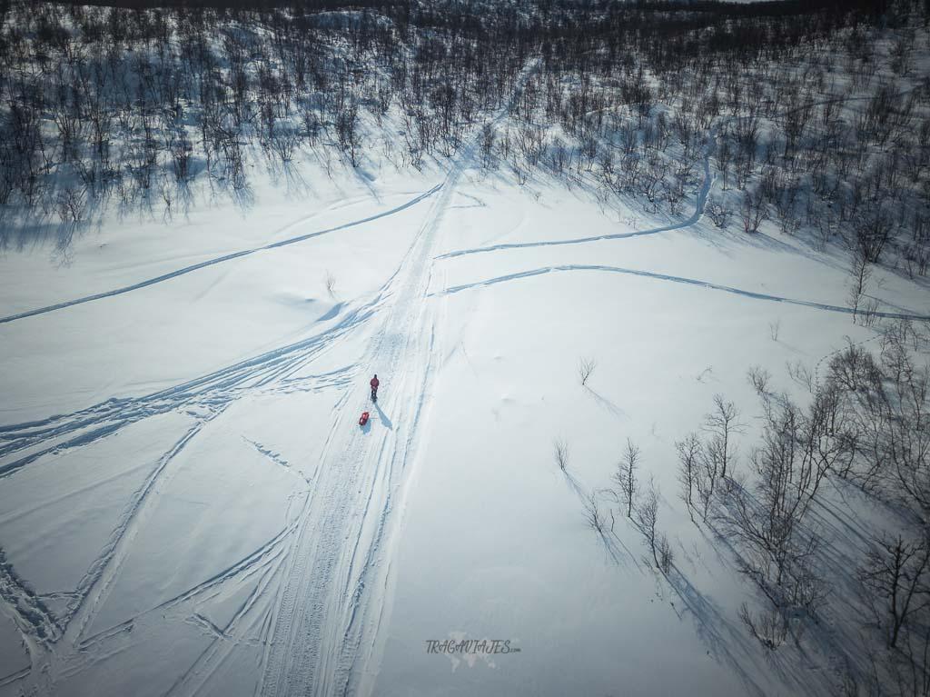 Viaje a Laponia - Ruta con raquetas de nieve
