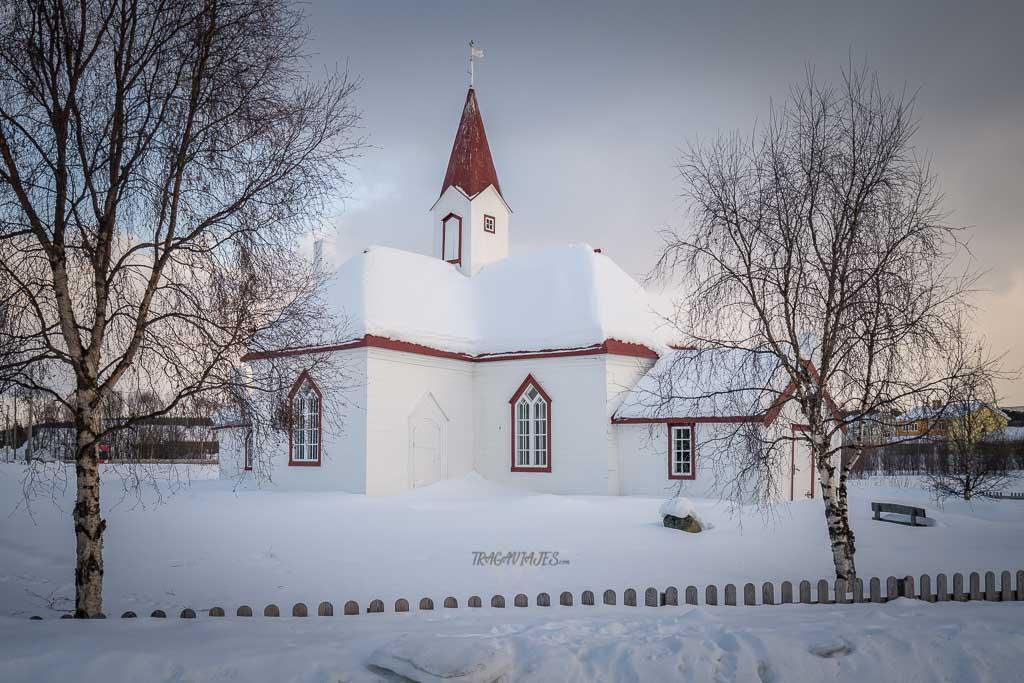 Viaje a Laponia - Iglesia de Karasjok