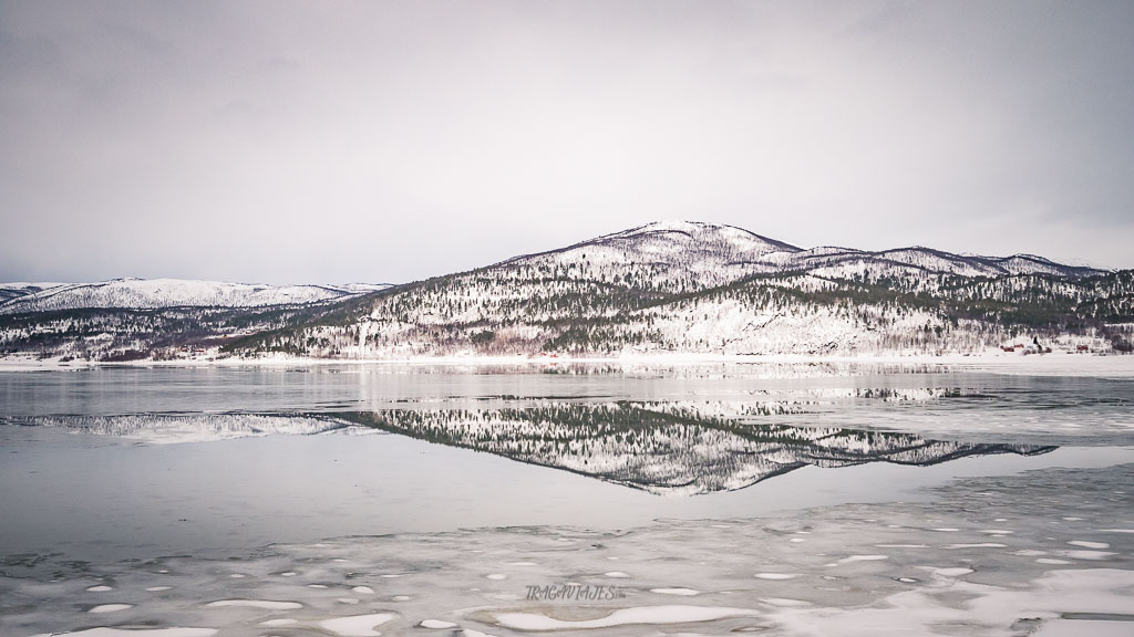Viaje a Laponia - camino entre Karasjok y Alta